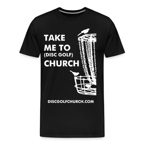 Disc Golf Church - Men's Premium T-Shirt