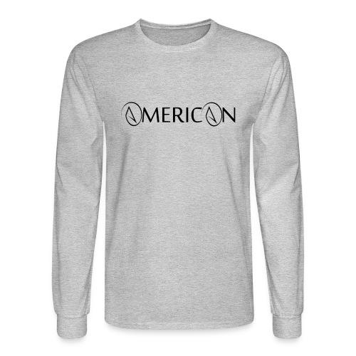Atheist American Men's Long Sleeve T-Shirt - Men's Long Sleeve T-Shirt