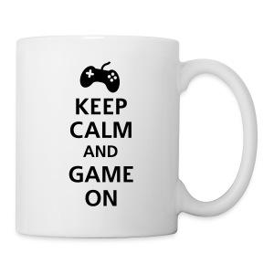 Keep Calm And Game On Coffee/Tea Mug - Coffee/Tea Mug