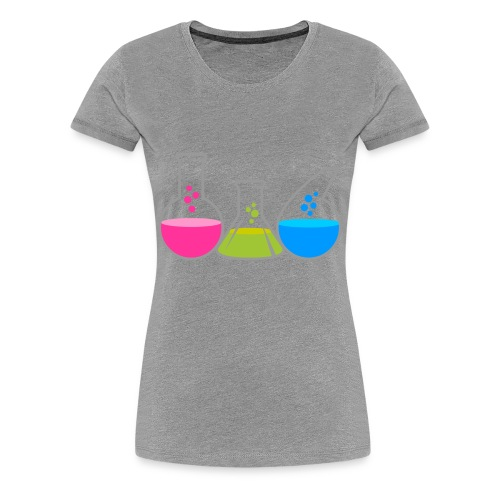 lab junky - Women's Premium T-Shirt