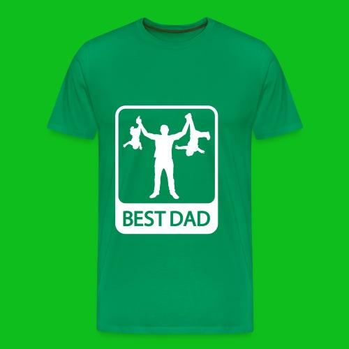 The best dad  - Men's Premium T-Shirt