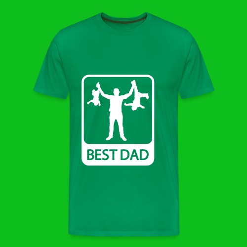 The best dad  - Men's Premium T-Shirt