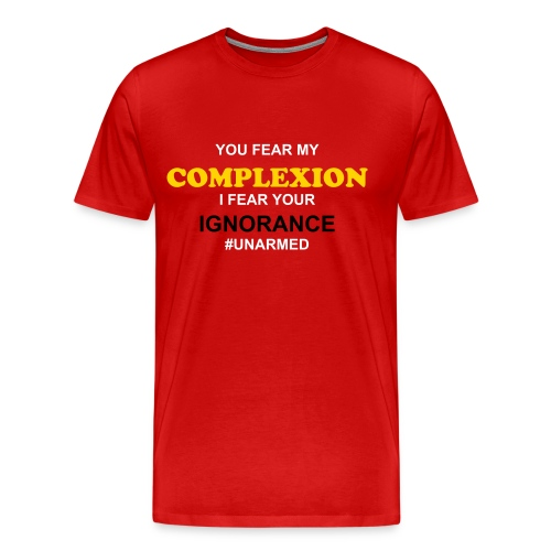 Complexion v Ignorance - Men's Premium T-Shirt