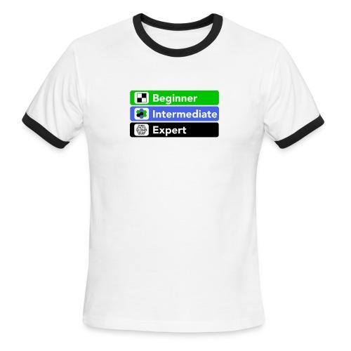 Board Game Proficiency - Men's Ringer T-Shirt