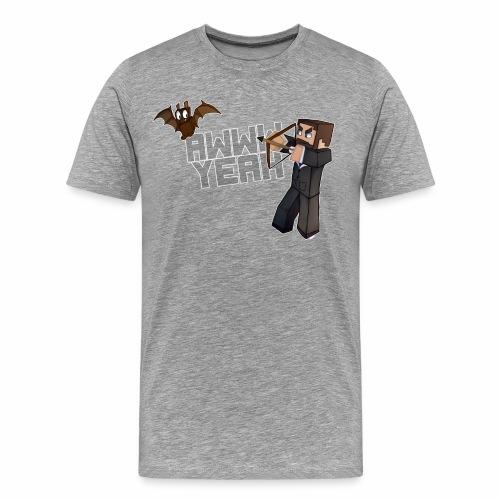 Awww Bat! (Men's) - Men's Premium T-Shirt