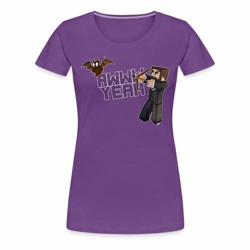 Awww Bat! (Women's) - Women's Premium T-Shirt