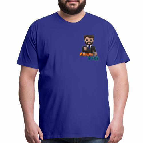 Awww Yeah! (Men's) - Men's Premium T-Shirt