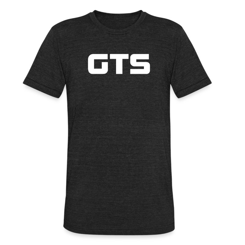 GTS Men's AA Tri Blend - Dark - Unisex Tri-Blend T-Shirt by American Apparel