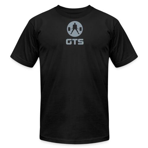 GTS Deadlifter Gray AA Cotten - Men's  Jersey T-Shirt