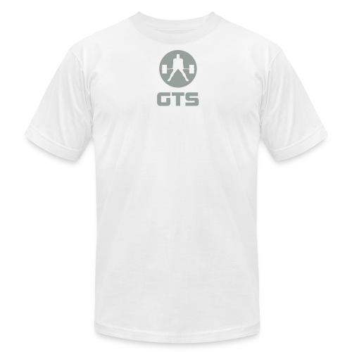 GTS Deadlifter Gray AA Cotten - WHITE - Men's  Jersey T-Shirt