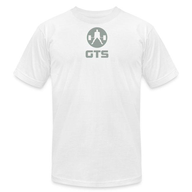 GTS Deadlifter Gray AA Cotten - WHITE