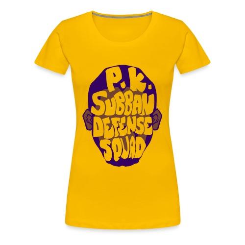 PK Subban Defense Squad T-Shirt - Femme Fit - Women's Premium T-Shirt