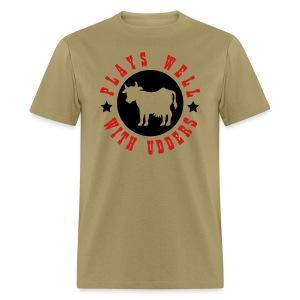 udders tee - Men's T-Shirt