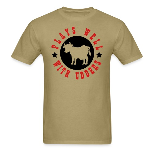 udders tee - Men's T-Shirt