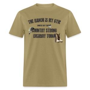 cowboy tough tee - Men's T-Shirt