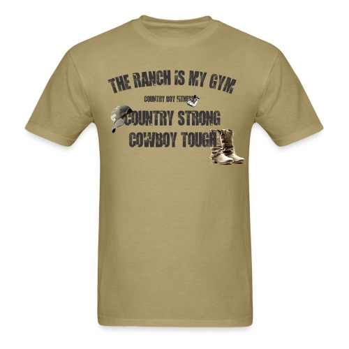 cowboy tough tee - Men's T-Shirt