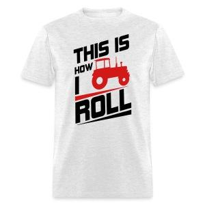 how i roll farmall tee - Men's T-Shirt