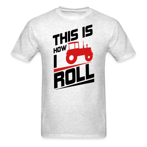 how i roll farmall tee - Men's T-Shirt