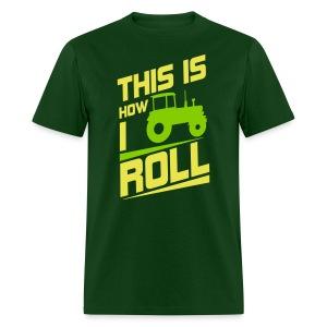 how i roll jd tee - Men's T-Shirt