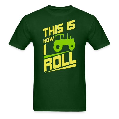 how i roll jd tee - Men's T-Shirt