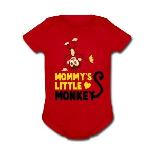 Monkey N' Around - Short Sleeve Baby Bodysuit