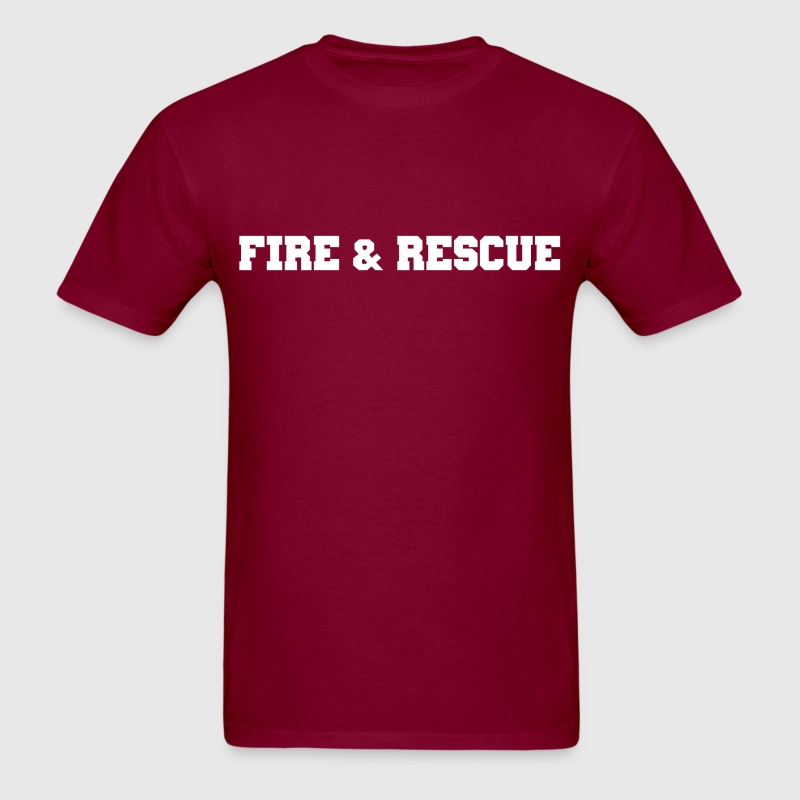 Fire and Rescue T-shirt 2 - Men's T-Shirt