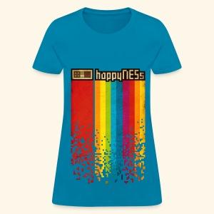 happyNESs [Pixelart] - Women's T-Shirt