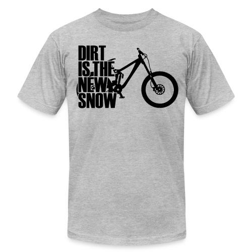 dirt is the new snow T-Shirts - Men's  Jersey T-Shirt