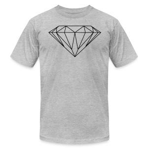 diamond T-Shirts - Men's Fine Jersey T-Shirt