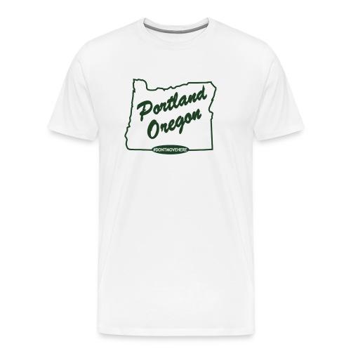 Mens - Don't Move Here - Men's Premium T-Shirt