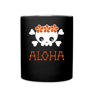 Aloha Skull - Full Color Mug