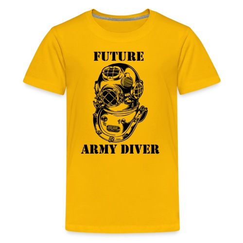 Future Army Diver - Kids' Premium T-Shirt