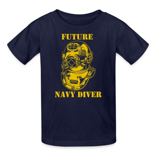 Future Navy Diver - Kids' T-Shirt