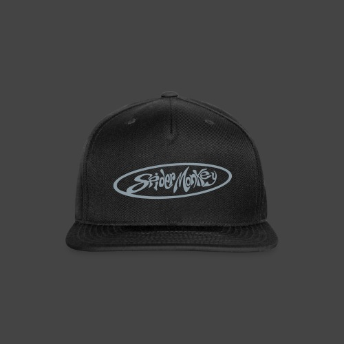 Spider Monkey Oval - Baseball Cap - Snap-back Baseball Cap