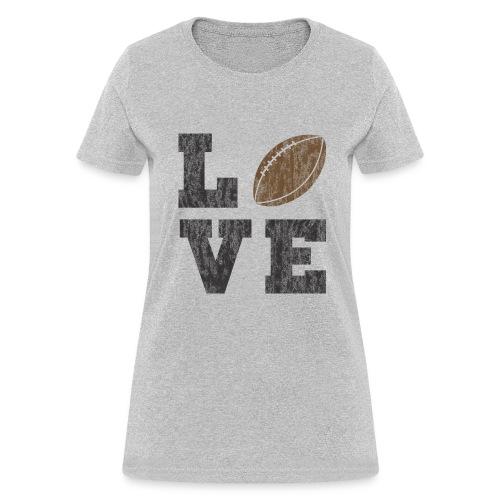 Football Love - Women's T-Shirt
