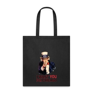 I Want You For Chicago - Tote Bag