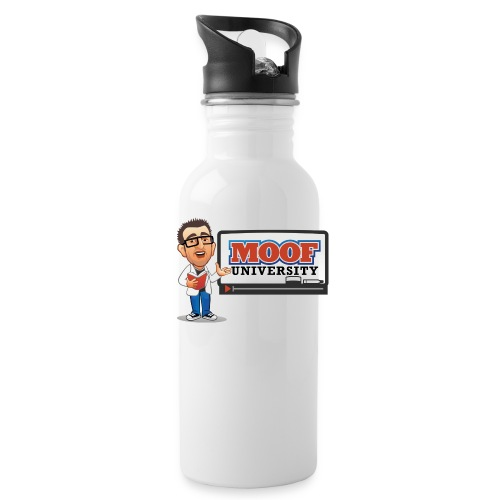 Moof University Logo - Water Bottle