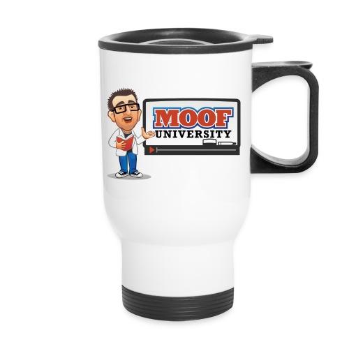 Moof University Logo - Travel Mug