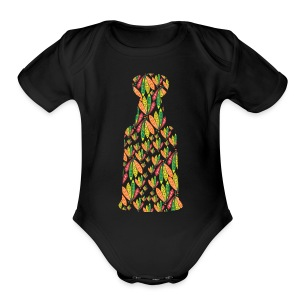 HawkeyCup - Short Sleeve Baby Bodysuit