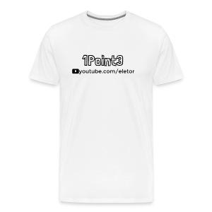1Point3 - Eletor - Men's Premium T-Shirt