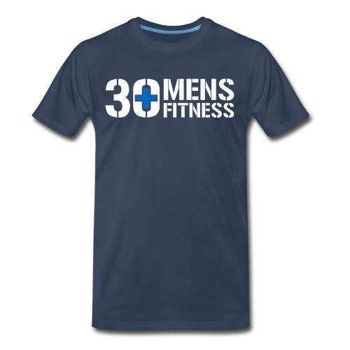 30 Plus Mens Fitness - Men's Premium T-Shirt
