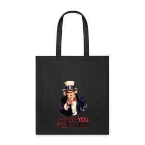 I Want You For Boston - Tote Bag