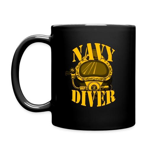 Navy Diver Mug - Full Color Mug