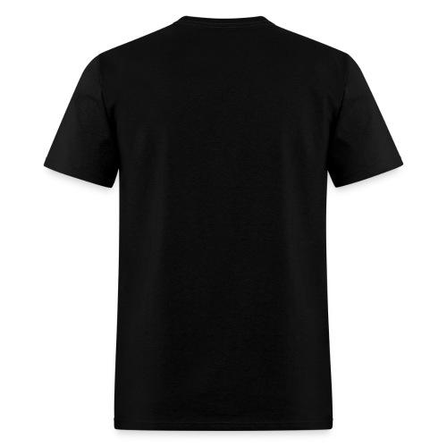 Uncensored-blackred - Men's T-Shirt