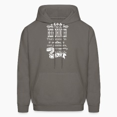 I'm A Beer Drinker Men's Hooded Sweatshirt