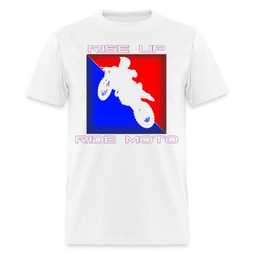 RISE UP RIDE MOTO TEE - Men's T-Shirt