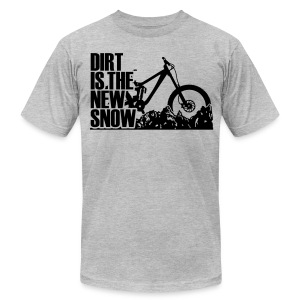 dirt is the new Snow RM T-Shirts - Men's Fine Jersey T-Shirt