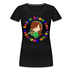 Autism Awareness T  - Women's Premium T-Shirt