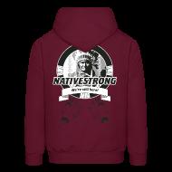 Hoodies ~ Men's Hoodie ~ ss_nstrong2_back Hoodies