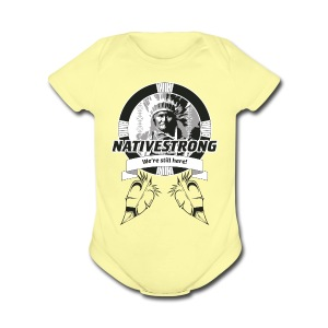 ss_nstrong2_back Baby & Toddler Shirts - Short Sleeve Baby Bodysuit